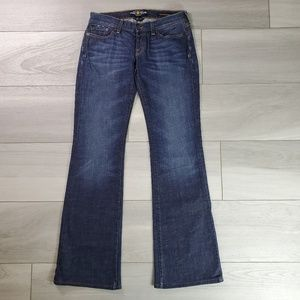 Lucky Brand Lil Maggie Flare Jeans Size 6 / 28